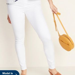 Old Navy White Denim Jeggings
